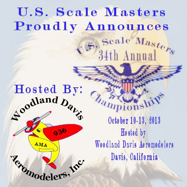 US Scale Masters Championships 2013 Flyer